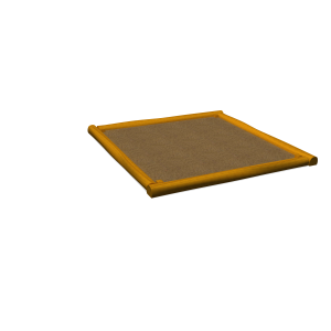 Sandpit with lid 2.5x2.5 PSTE000.331
