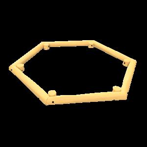 Sandpit Hexagon PSTE000.342