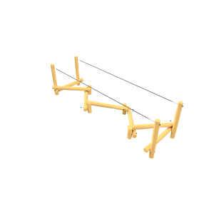 Zigzag balancing equipment PSTE000.537