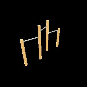 Rekstok trio H1.90-1.60-1.40 PSTE000.930