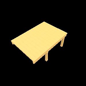 Zandbaktafel voor rolstoel PST.000.935