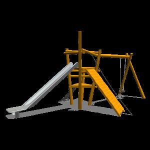 Toren met aanbouwschommel PST.110.044