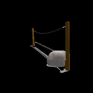 Slackline 5m+ extensie PST.32E.038