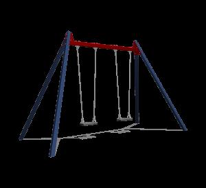 Double balançoire revêtu SOLE030.102