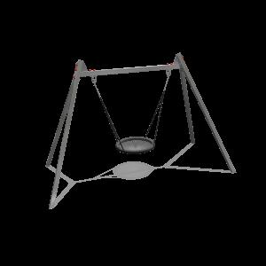 balançoire nid d'oiseau inox 100cm SOLE030.109