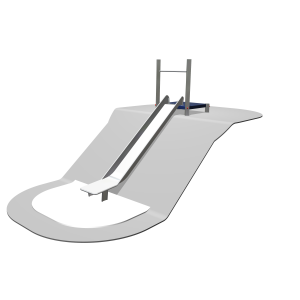 Hangrutsche 165 - 195 cm SOLE030.219