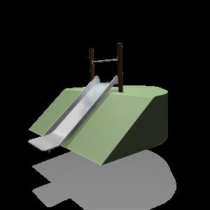 Hügelrutsche 1m breit SOLE030.343