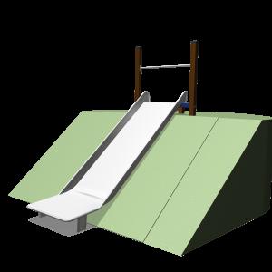 Hügelrutsche 1m breit 1.95m SOLE030.344
