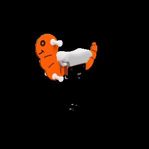 Veerhobbel Glimworm SOL.030.379
