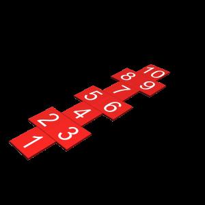 Hinkeltegelset rood SPA.820.300