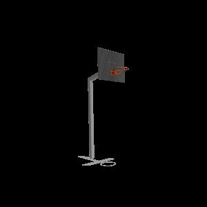 Basketbalpaal met roosterbord SPT.020.009