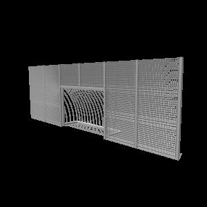 Ballenwand 9m met MaxiGoal SPT.230.026