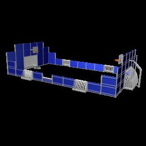 Multiveld 15,8x9,4m kunststof SPT.260.003