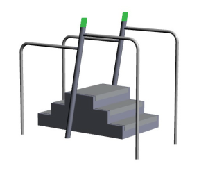 SeniorFit Balance Stairs UBG.080.020