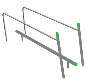 SeniorFit Balance beam-bars UBG.080.021