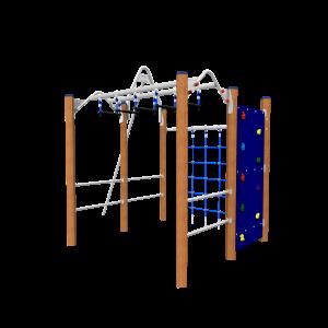 climbing cube Hardwood VRBE080.823