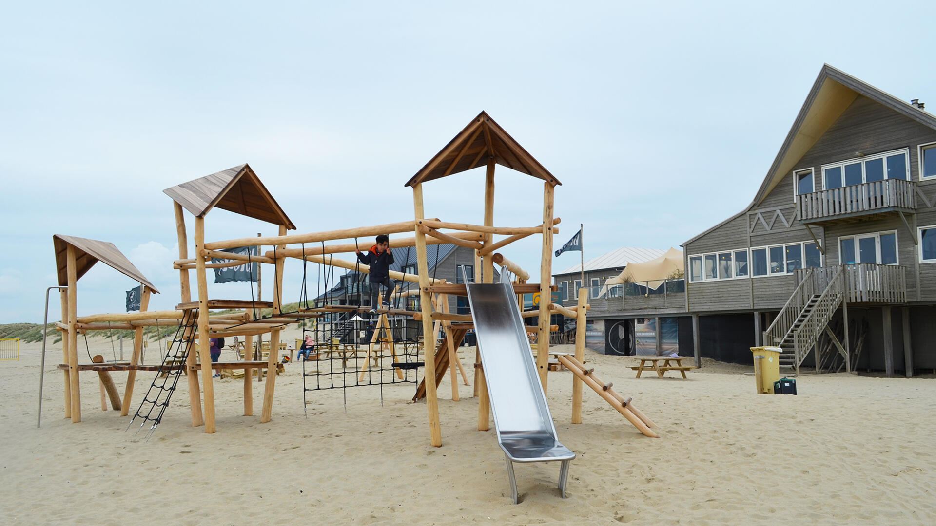 spelen strand
