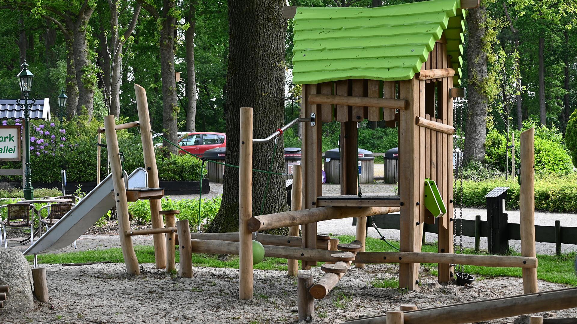 uitdagende speelplek familiepark entree
