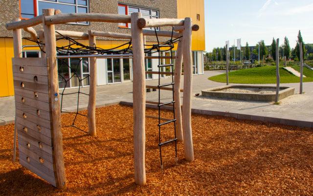 nieuwbouw schoolplein