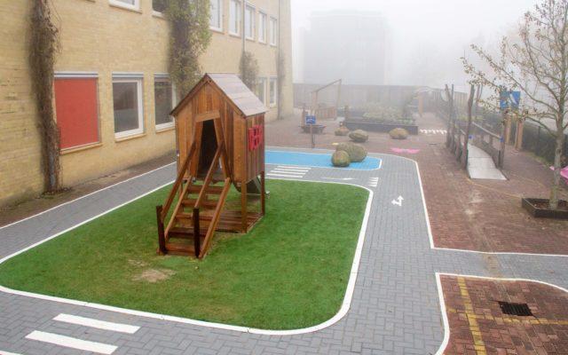 schoolplein samenspel