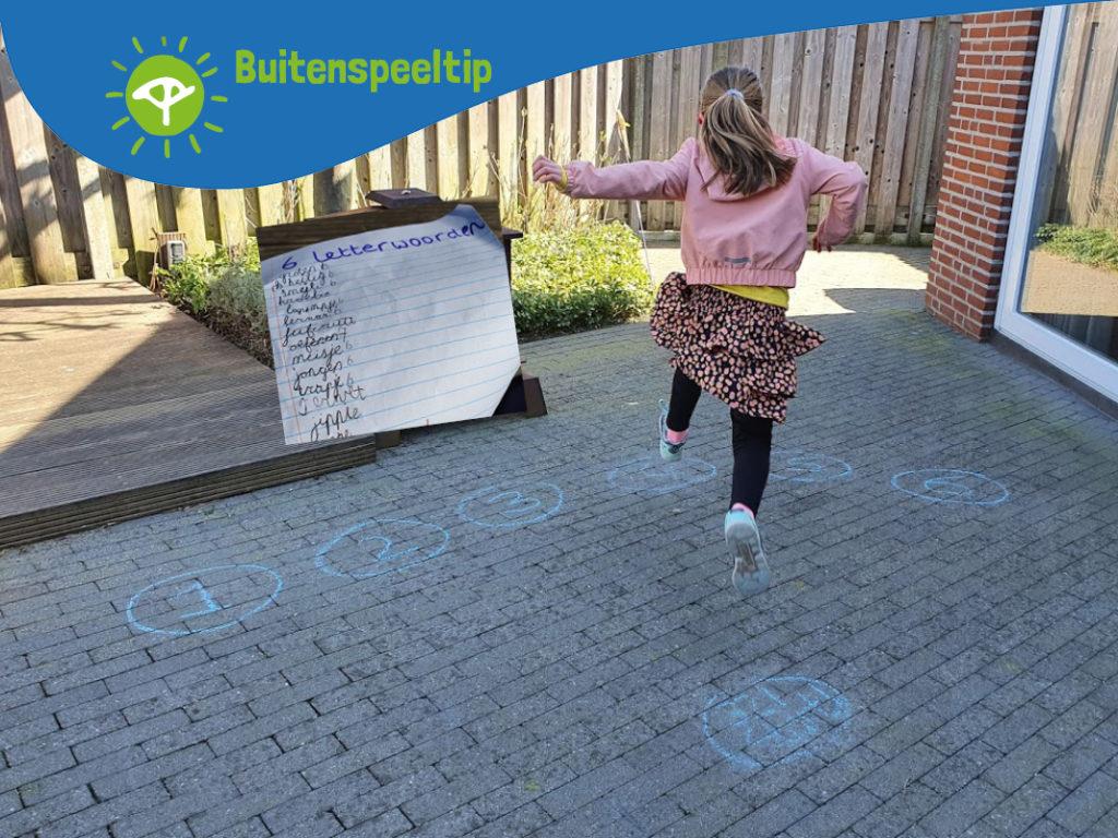 buitenspeeltip spelling oefenen