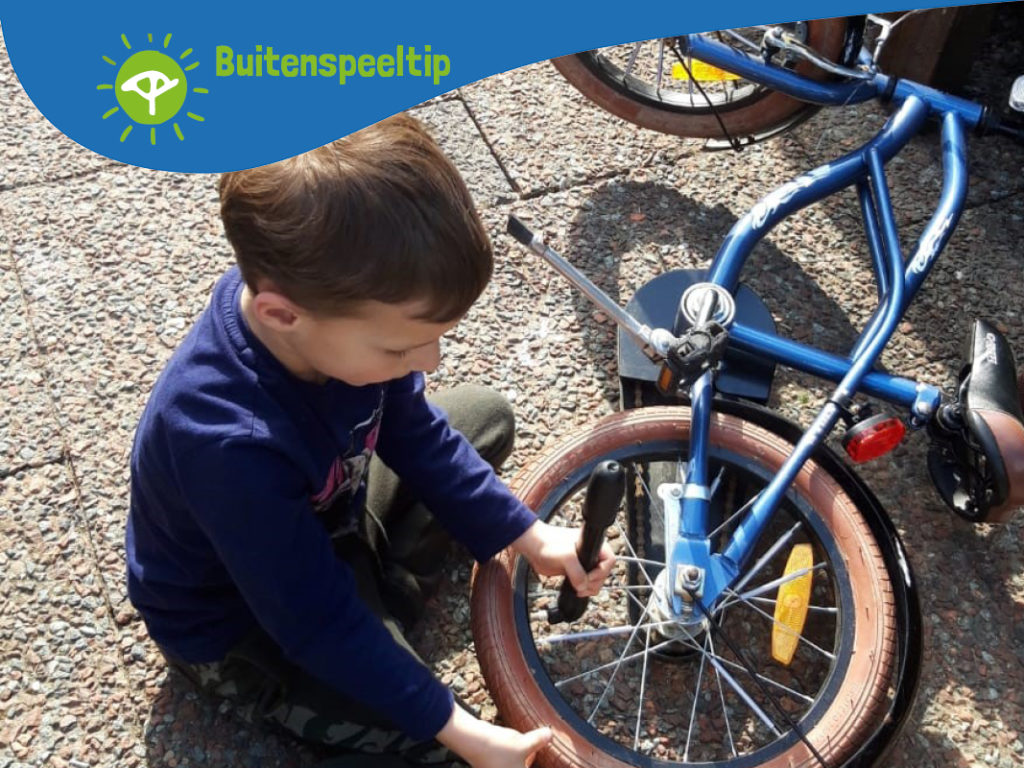 buitenspeeltip fietsonderhoud