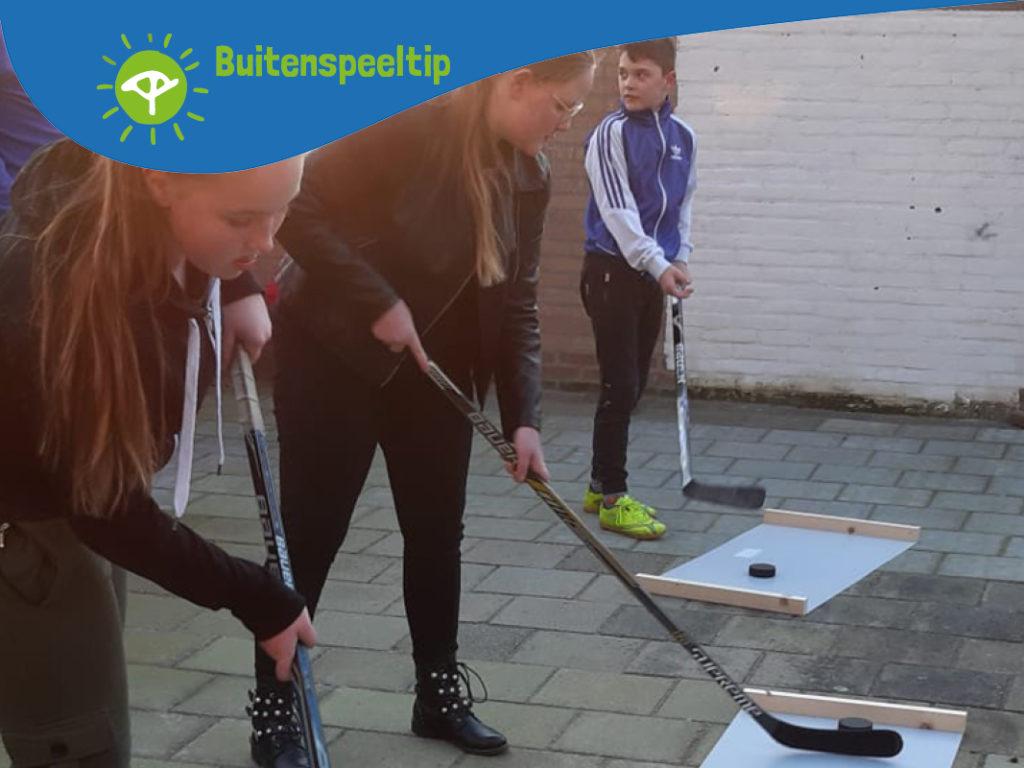 buitenspeeltip ijshockeytraining