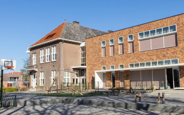 schoolplein herinrichting bij nieuwbouw